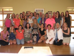 Taken at the end of Sue Frederick's Bridges to Heaven Grief Healing Workshop. Look at the radiant faces of the attendees!